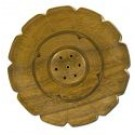 Incense Burners Mothers Symbol Plate Teak