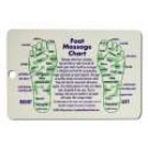 4 x 6 Cards Foot and Hand Massage