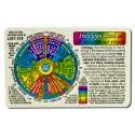 Original Wallet Cards Iridology Card (rainbow coding)