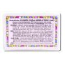 Aromatherapy Wallet Cards Aroma Flowers\/Floral Scents #2