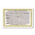 Aromatherapy Wallet Cards Aroma Spices\/Savory Scents