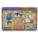 Wallet Cards Zone Reflex Therapy Foot
