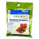 Herbalozenges Organic Cranberry and Raspberry 18 ct\/bag