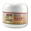 Sore no More Warm Therapy Natural Pain Relieving Gel Jar 2 oz