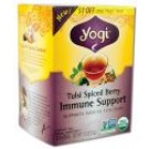Ancient Healing Formula Tea Tulsi Spiced Berry Immune Support USDA Organic NON-GMO 16 ct